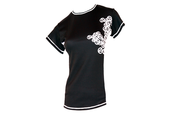 JERSEY FAME PATCH BLACK SHORT SLEEVE (S, M, L)