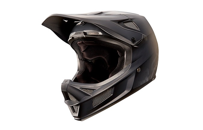FOX HEAD RAMPAGE PRO CARBON BLACK HELMET