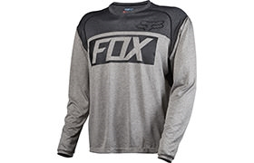 FOX HEAD INDICATOR LONG SLEEVE JERSEY GREY 2016