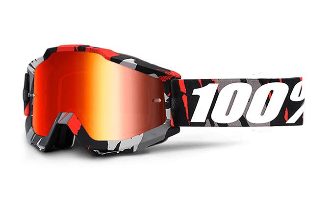 100% GOGGLE ACCURI MAGEMO MIRROR RED LENS