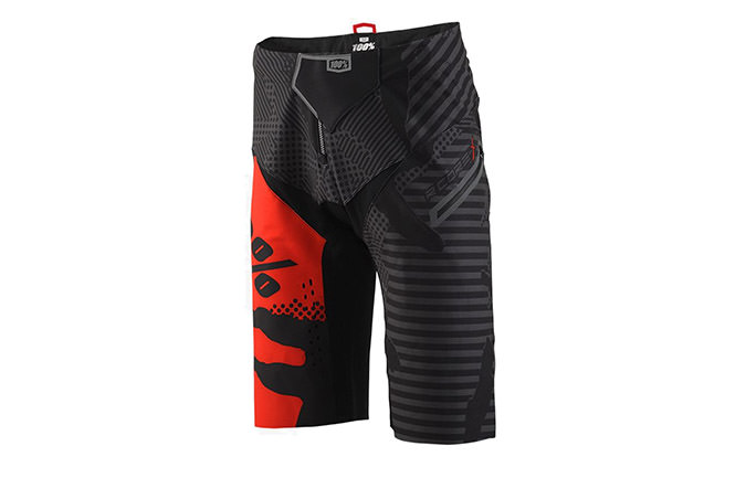 100% R-CORE-X DH SHORTS BLACK CAMO