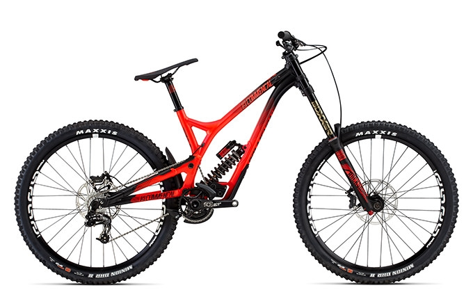 SUPREME DH V4 RACE ROCKSHOX 650B RED 2016