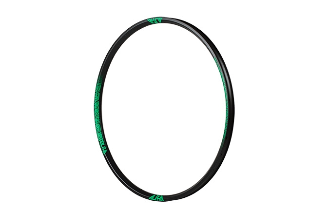 RIDE ALPHA ENDURO RIM 26 GREEN