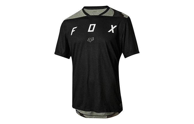 FOX YOUTH INDICATOR SHORT SLEEVE JERSEY BLACK 2018