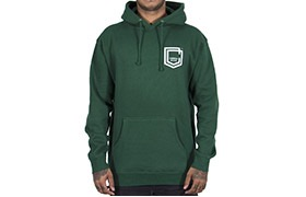 COMMENCAL SHIELD HOODIE DARK GREEN 2019