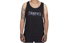 COMMENCAL CORPORATE TANK TOP BLACK