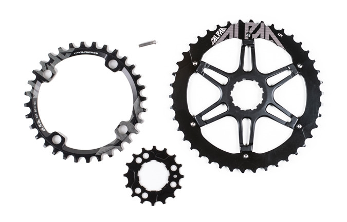 RIDE ALPHA 1x10 SPEEDS KIT WITH 30T NARROW WIDE CHAIN RING 2016