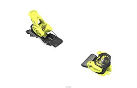 BINDINGS TYROLIA ATTACK² 11 GW YELLOW + BRAKES TYROLIA FOR ATTACK²