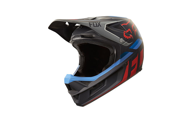 FOX RAMPAGE PRO CARBON SECA HELMET BLACK/RED