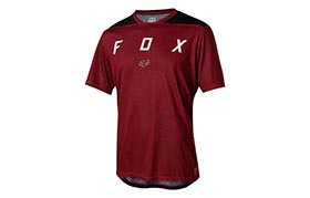 FOX INDICATOR MASH SHORT SLEEVE JERSEY CAMO DARK RED 2018