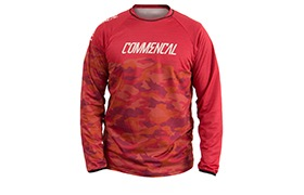 LONG SLEEVE TEAM REPLICA JERSEY RED