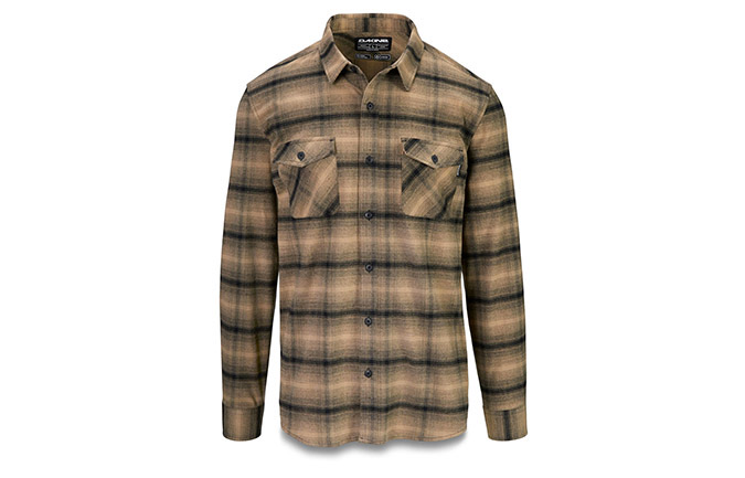 DAKINE UNDERWOOD FLANNEL SHIRT BARLEY 2020
