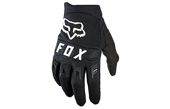 FOX KIDS DIRTPAW GLOVES BLACK/WHITE