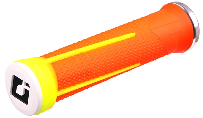 ODI AG-1 Grips Yellow and orange fluo 130mm