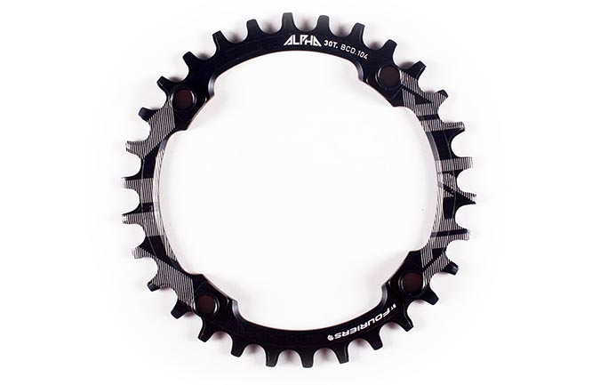 RIDE ALPHA 30 T CHAIN RING NARROW WIDE