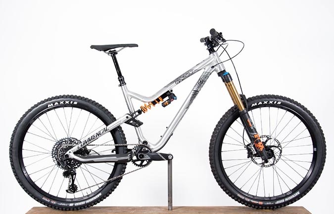 META AM V4.2 NEW ZELAND 650B BRUSHED 2018 (M)