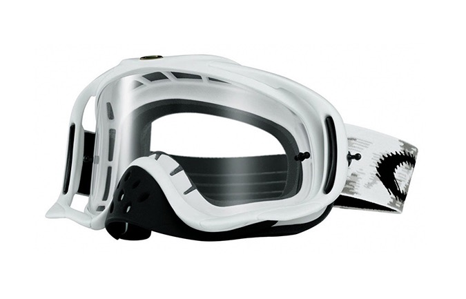 OAKLEY CROWBAR GOGGLES MAT WHITE/CLEAR LENS