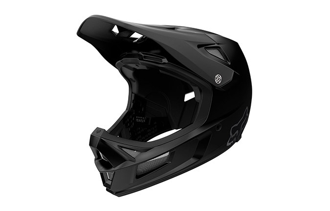 FOX RAMPAGE COMP HELMET MATTE BLACK