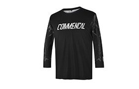 COMMENCAL KIDS CUSTOM JERSEY BLACK