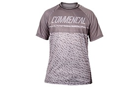 COMMENCAL SHORT SLEEVES JERSEY GREY