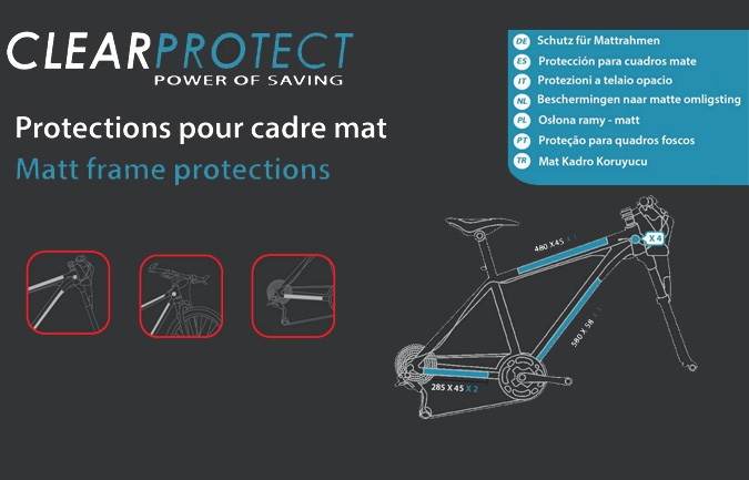 CLEARPROTECT INVISIBLE PROTECTION KIT MAT FOR META AND SUPREME