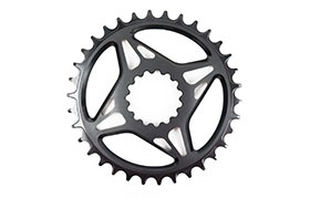 E13 DIRECT MOUNT 34T 10/11 SPEED BOOST CHAINRING BLACK