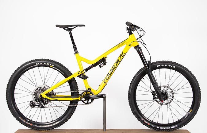 META AM V4.2 RACE EAGLE 650B YELLOW 2017 (M)