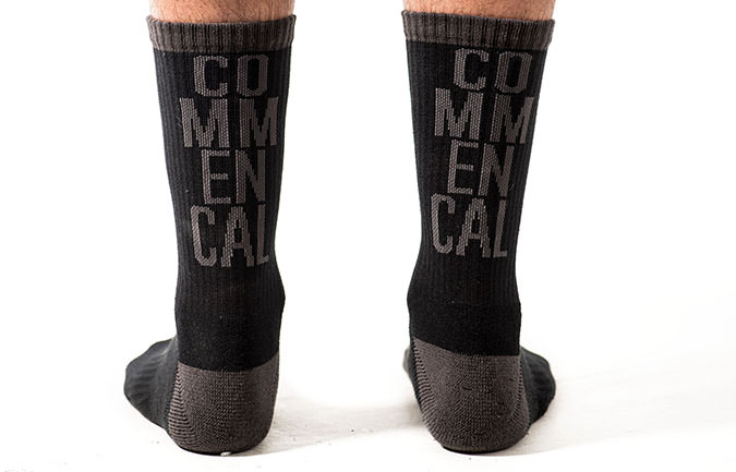 COMMENCAL SOCKS BLACK/GREY