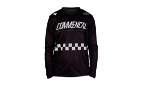 LONG SLEEVE FORBIKE/COMMENCAL JERSEY BLACK
