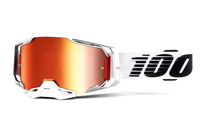 100% ARMEGA LIGHTSABER GOGGLES -  RED MIRROR LENS 2020