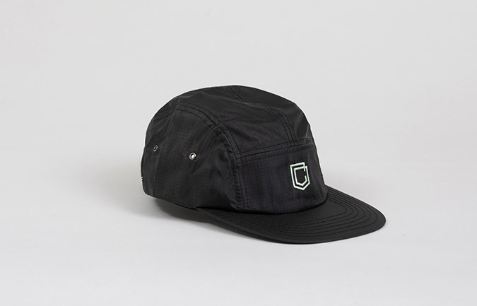 COMMENCAL 5 PANEL RIPSTOP CAP BLACK
