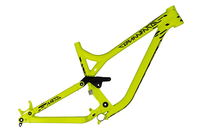 FRAME META AM V3 650B YELLOW 2015