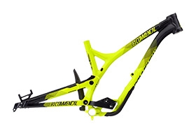 FRAME SUPREME DH 650B YELLOW 2016