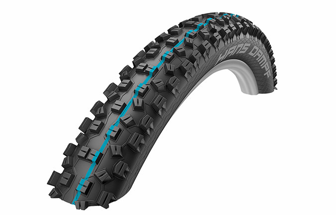 SCHWALBE NEW HANS DAMPF 27.5 X 2.6 SNAKESKIN TL EASY APEX ADDIX SPEED