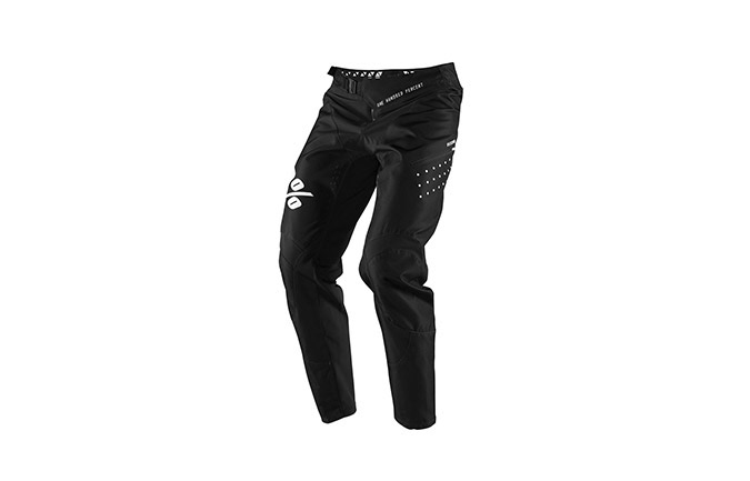 100% R-CORE BLACK PANTS