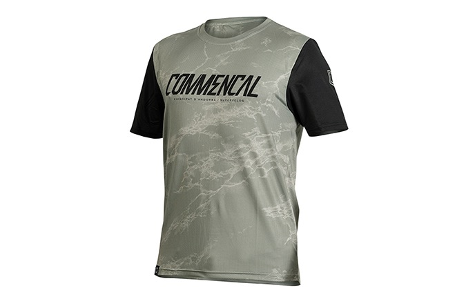 COMMENCAL SHORT SLEEVE JERSEY HERITAGE GREEN