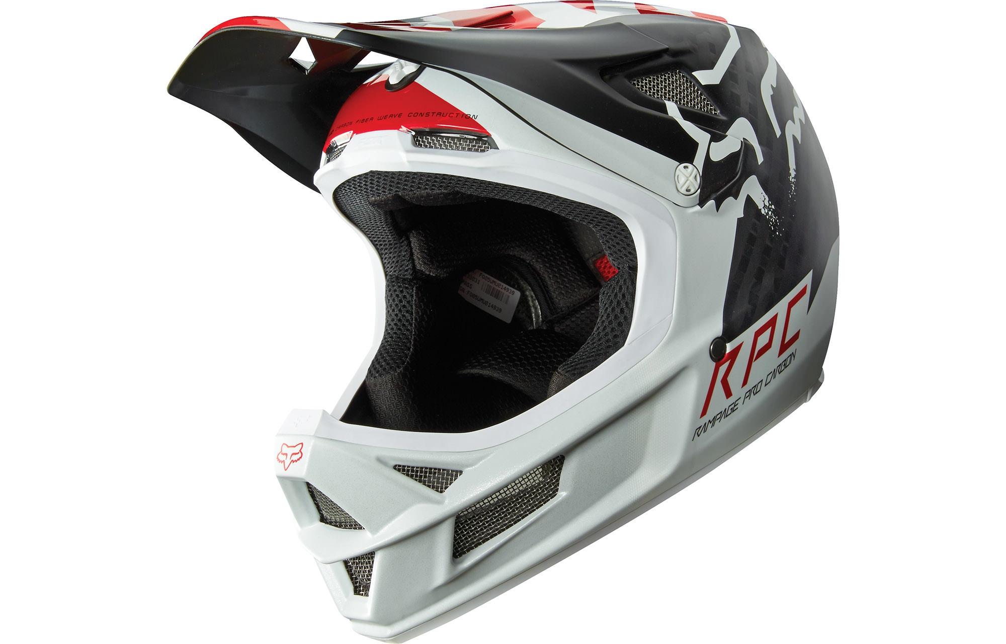 Fox Downhill-MTB Helm Rampage Schwarz