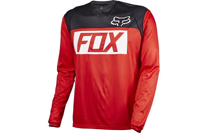 FOX HEAD INDICATOR LONG SLEEVE JERSEY RED 2016