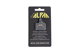 RIDE ALPHA SINTERED BRAKE PADS FOR SHIMANO DEORE - TEKTRO HDC/AURIGA