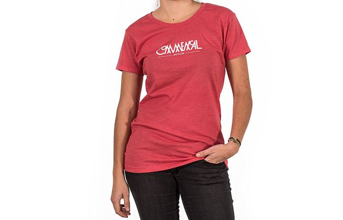 T-SHIRT BUBBLE RED GIRLY