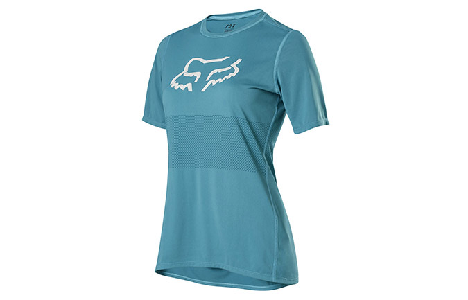 FOX WOMEN'S RANGER SHORT SLEEVE JERSEY AQUA