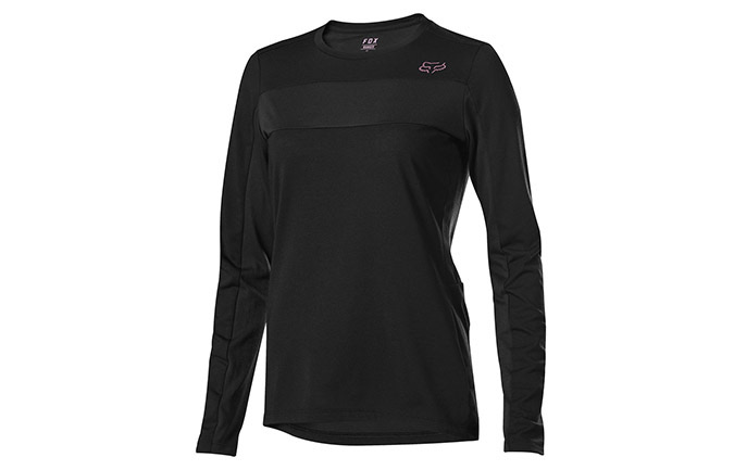 FOX WOMEN'S RANGER DR LONG SLEEVE JERSEY BLACK