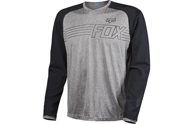 FOX HEAD EXPLORE LONG SLEEVE  JERSEY GREY