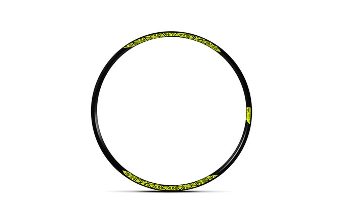 RIDE ALPHA RIM DH 650B NEON YELLOW