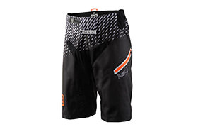 100% R-CORE SUPRA DH SHORTS BLACK/GREY 2018