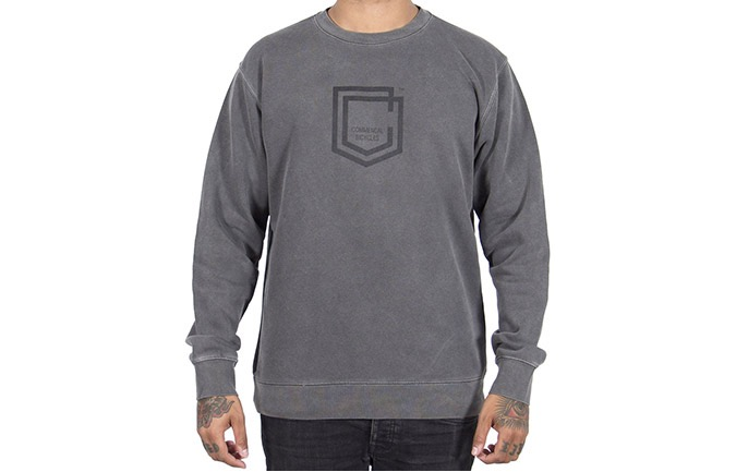 COMMENCAL SHIELD CREWNECK PIGMENT BLACK 2019