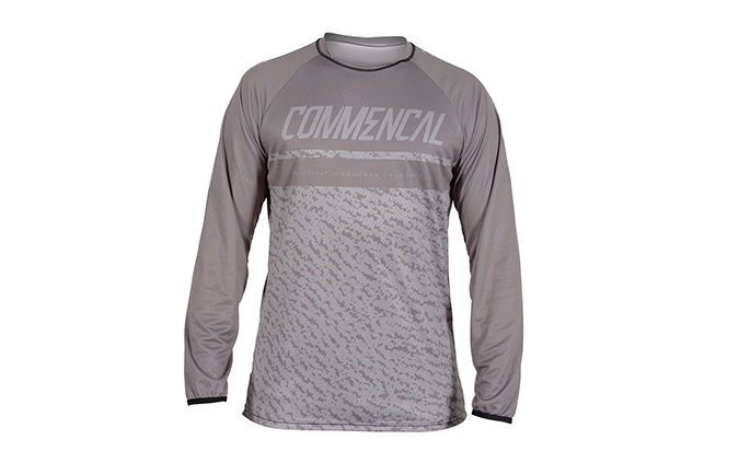COMMENCAL LONG SLEEVE JERSEY GREY