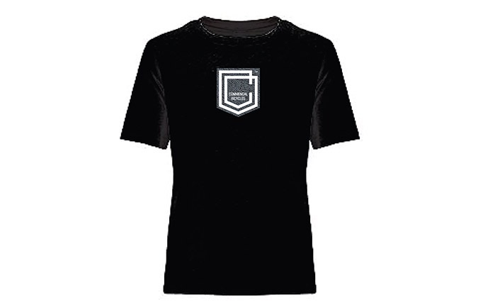 COMMENCAL KIDS SHIELD T-SHIRT BLACK 2019