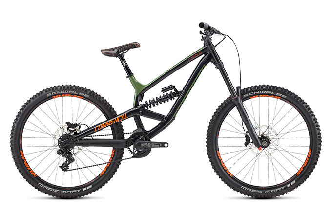 FURIOUS BRITISH COLUMBIA650B GREEN/ORANGE/BLACK 2018