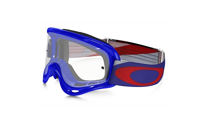 OAKLEY XS O FRAME MX HERITAGE RACER RWB KID GOGGLES CLEAR LENS